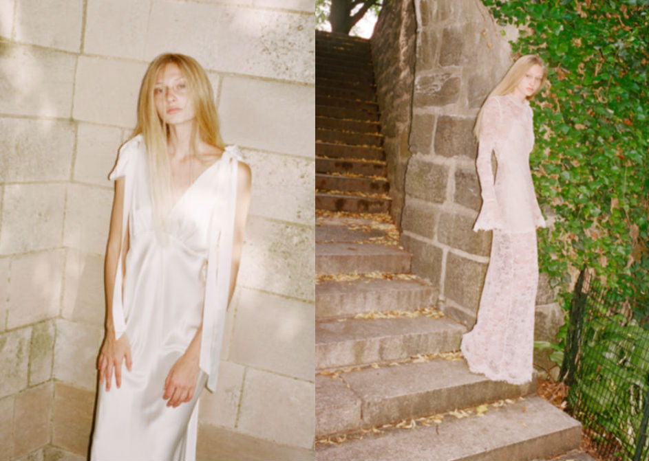 See the capsule bridal collection from Les Reveries