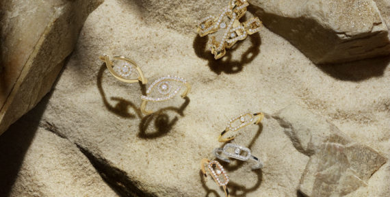 See Messika's evil eye jewellery collection which is exclusive to the Middle East