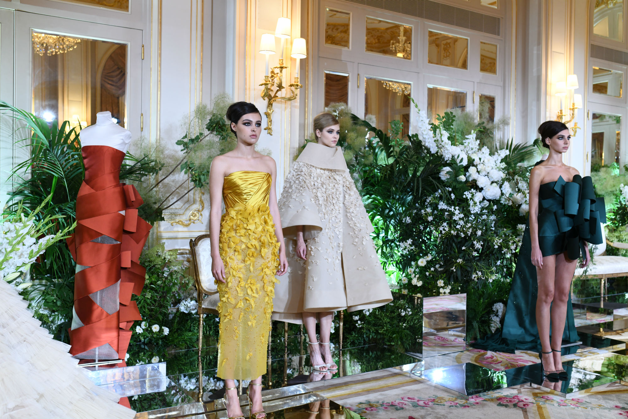 Rami Al Ali took inspiration from the Cafe Society style of socialites
