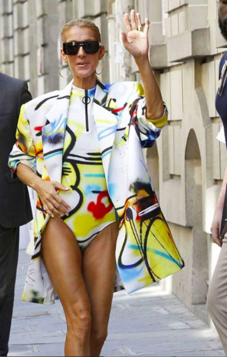 Celine Dion is winning when it comes to Paris Couture Week outfits