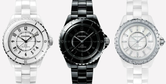 Here's why the Chanel J12 watch, which is celebrating its 20th anniversary, is so iconic in the history of watchmaking