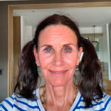 courtney cox old ageing app