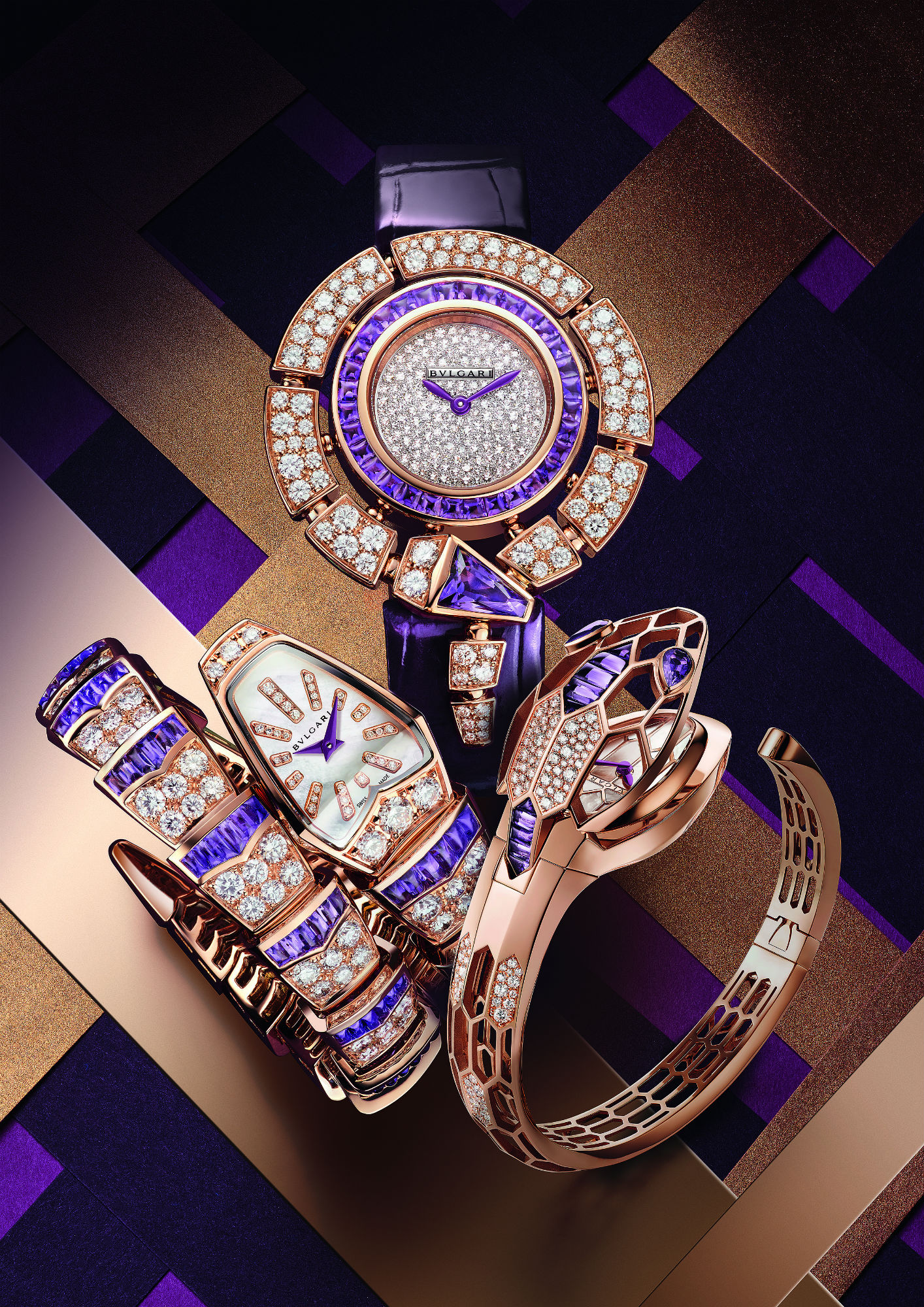 See the latest update on the iconic Bvlgari Serpenti watches