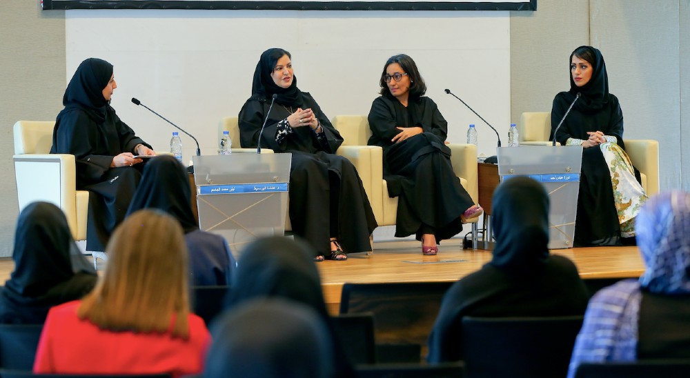 To celebrate the fifth Emirati Women's Day, The Dubai Business Women Council held a special panel discussion with influential businesswomen in the region