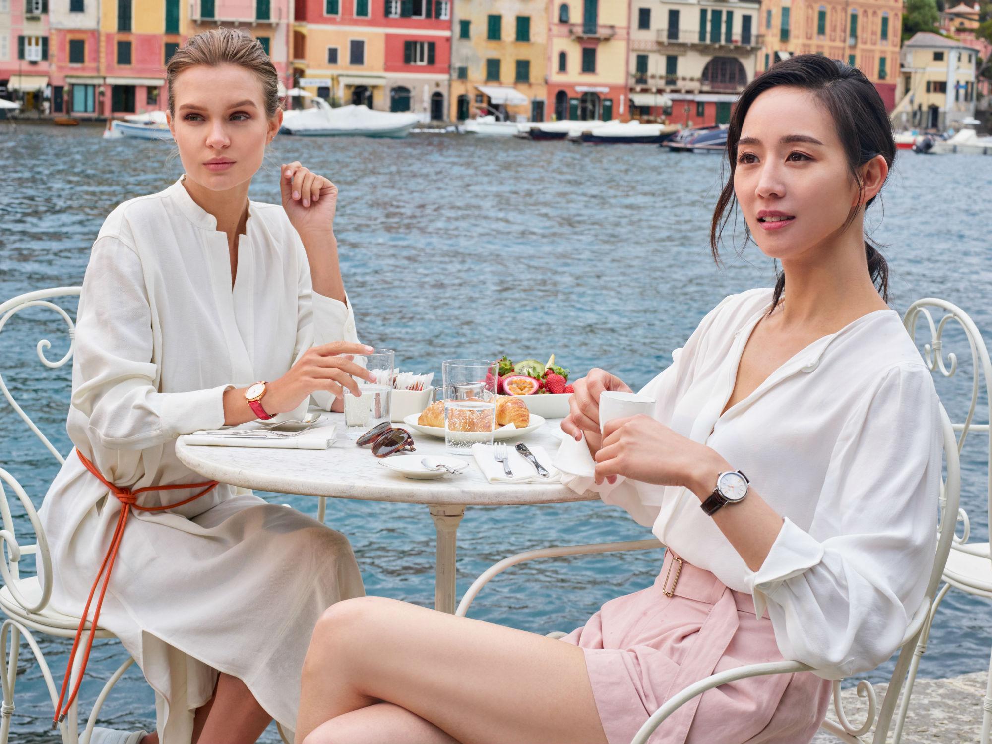 See more from the latest watch from IWC as modelled by Josephine Skriver and Ning Chang