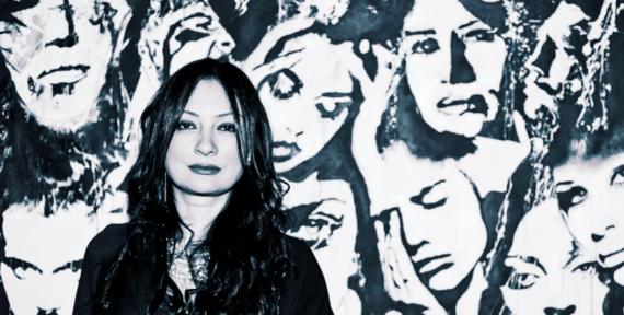 Lebanese Contemporary Artist Suzi Fadel Nassif portrait