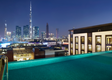 For a pool with a downtown view that's hard to beat, head to La Ville in City Walk