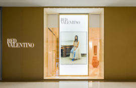 See the new REDValentino store located in The Dubai Mall