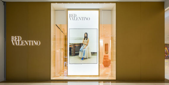See the new REDValentino store located in The Dubai Mall