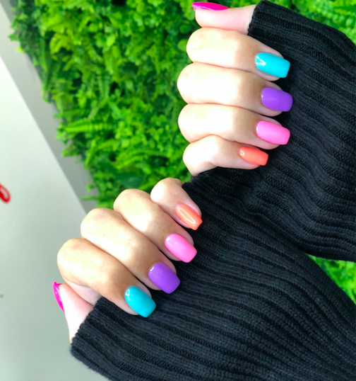 Can't decide which shade? No need to with this new nail trend