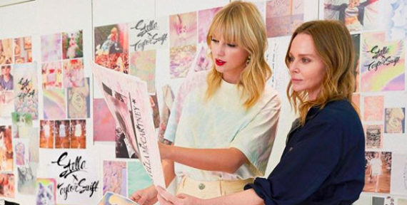Taylor Swift and Stella McCartney have teamed up on a new collection