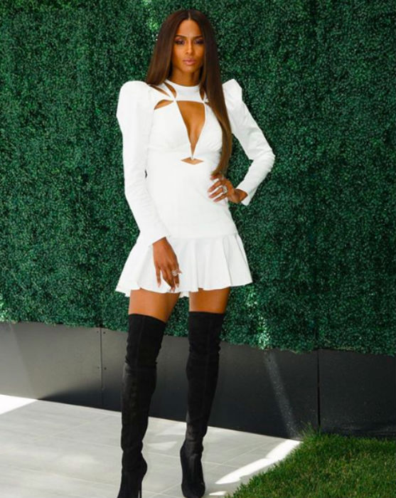 Singer Ciara has also hinted at her own beauty range of recent