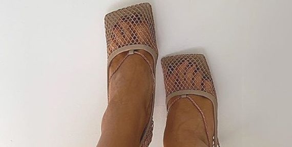 Rosie Huntington-Whiteley is one of the fashion crown who has declared square toe shoes back