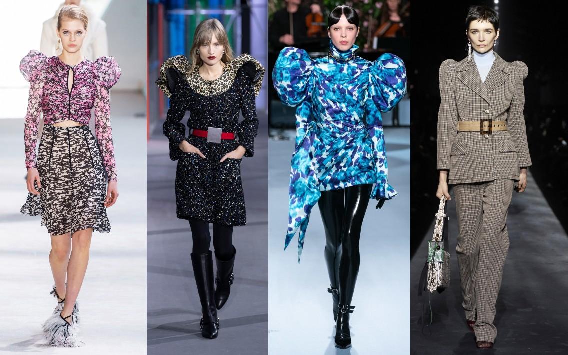 Giambattista Valli, Louis Vuitton, Richard Quinn, Givenchy