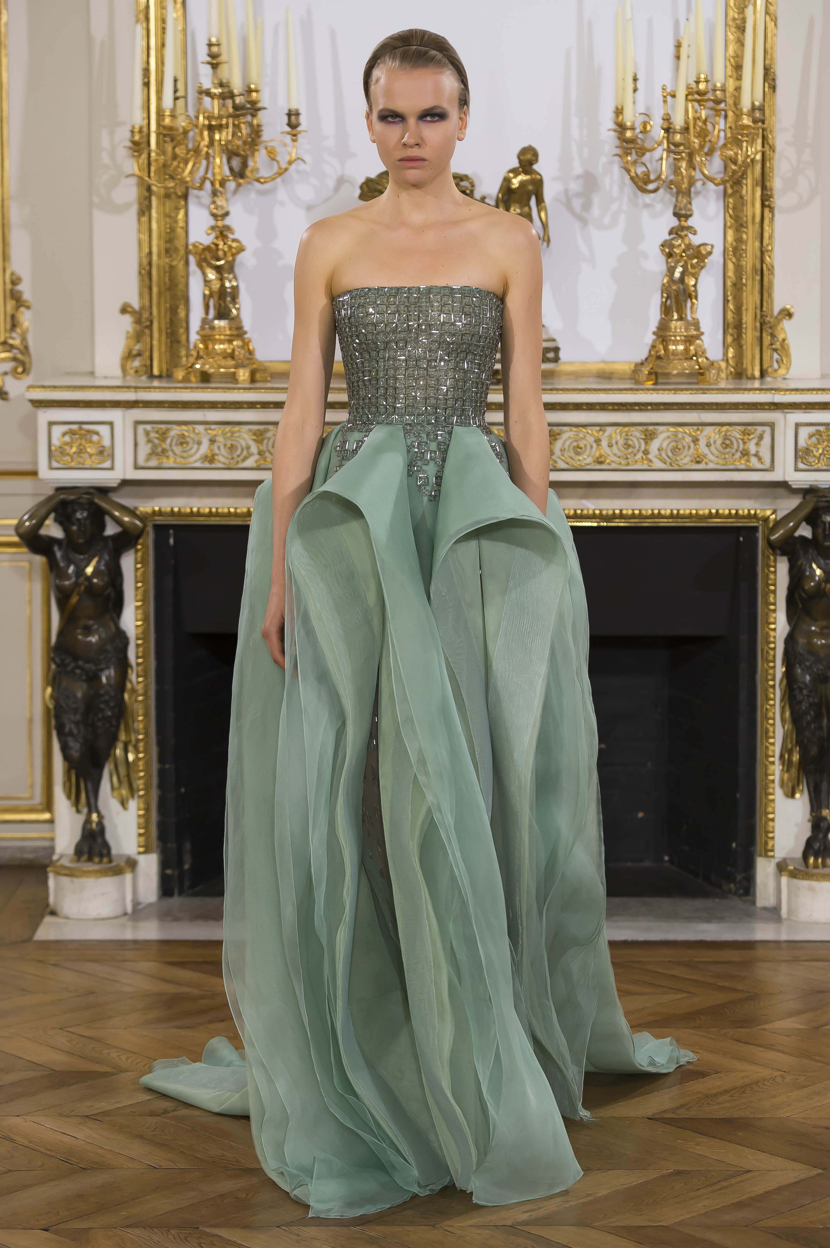 The Art Of Togetherness And Mosaic Art Inspires Rami Al Ali S First Couture Show In Paris A E Magazine