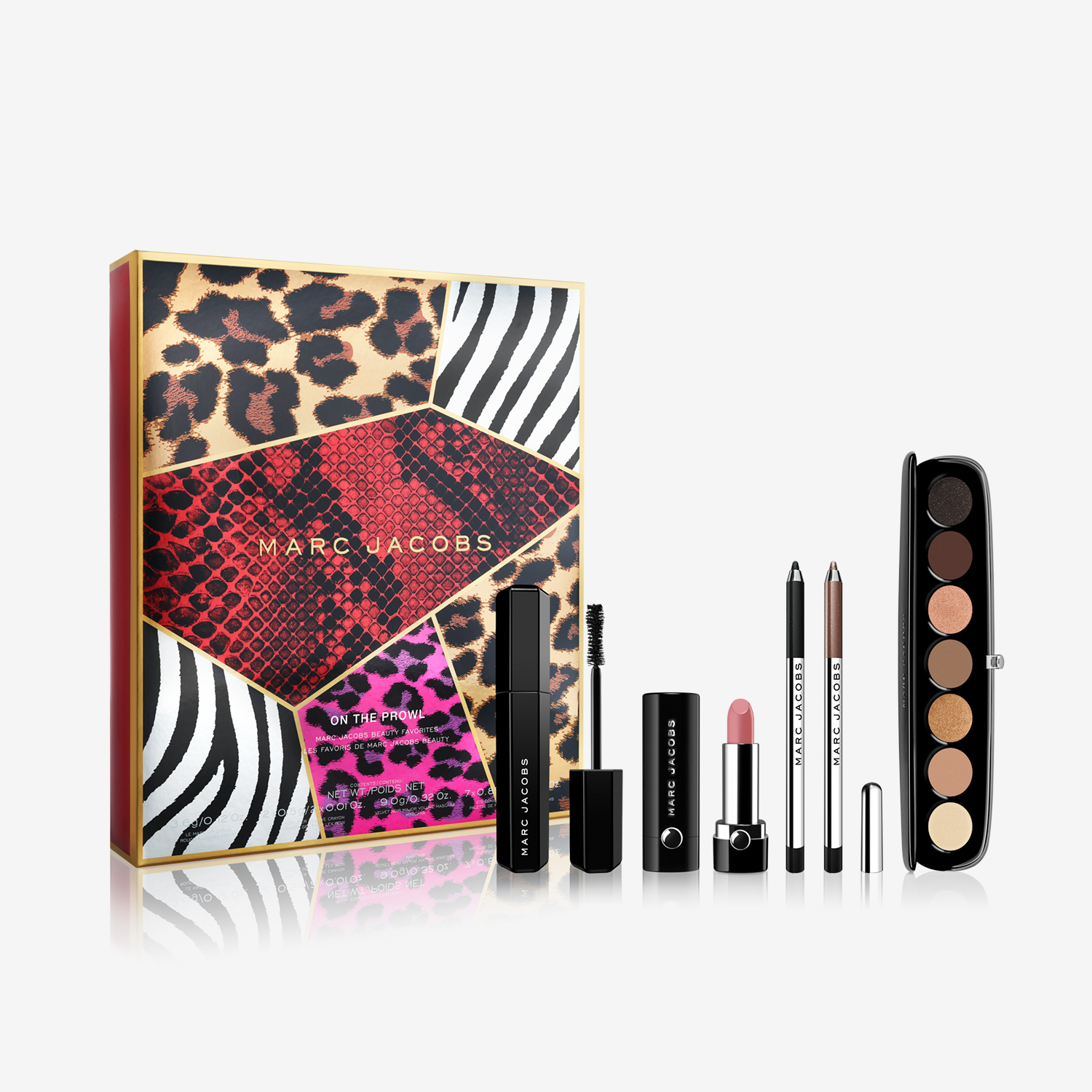 Marc Jacobs Holiday 2016 About Last Night makeup