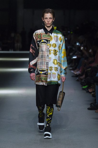 Burberry February Collection 2018 - Look 4