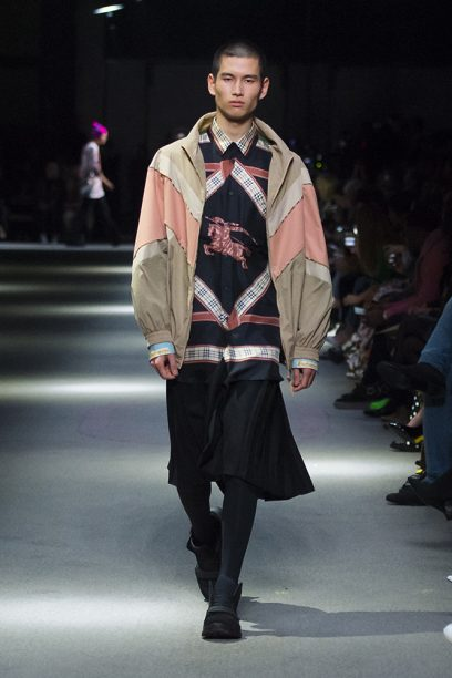 Burberry February Collection 2018 - Look 70