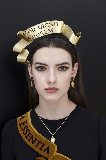 Dolce & Gabban Beauty Look FW18