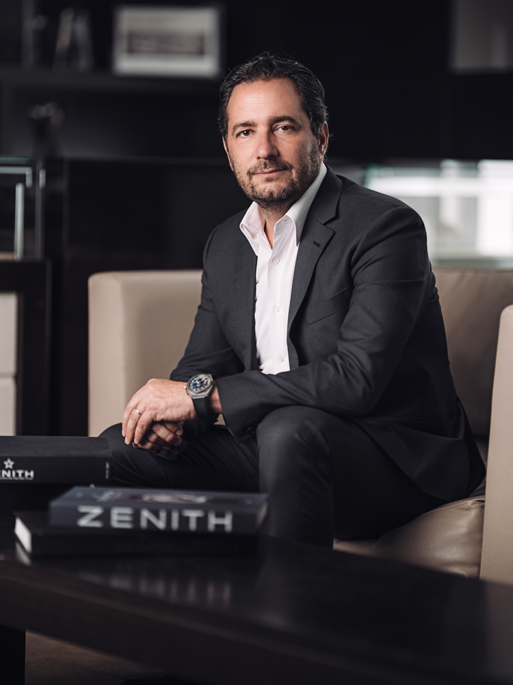 CEO Of Zenith Julien Tornare