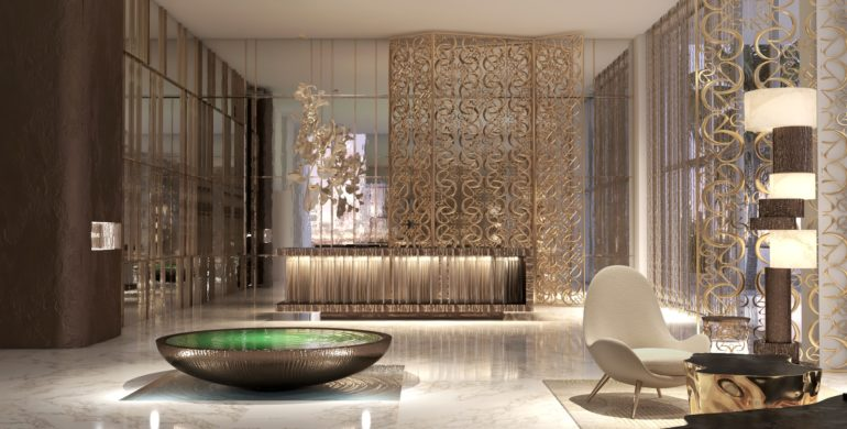 Elie Saab has teamed up with Emaar for a huge residential project on Dubai beachfront