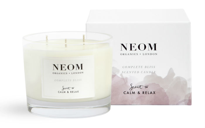 Neom Three Wick Candle Complete Bliss
