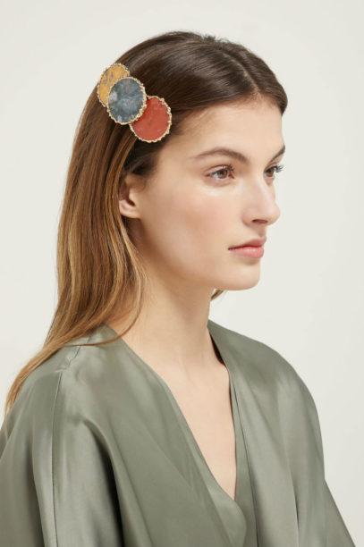1 matches fashion ROSANTICA BY MICHELA PANERO Wallace agate hair clip