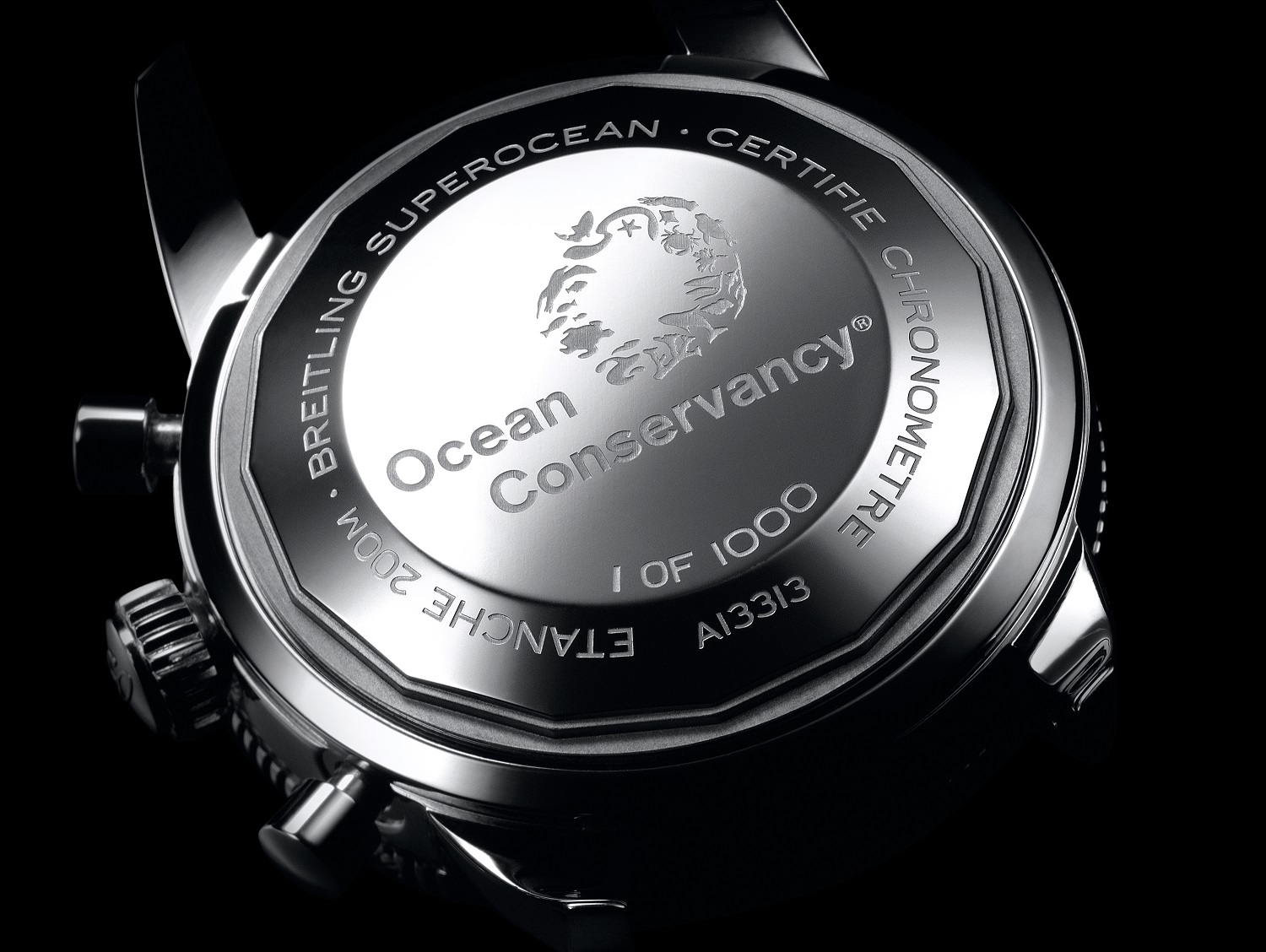 There are 1000 models of the Superocean Heritage Ocean Conservancy Limited Edition