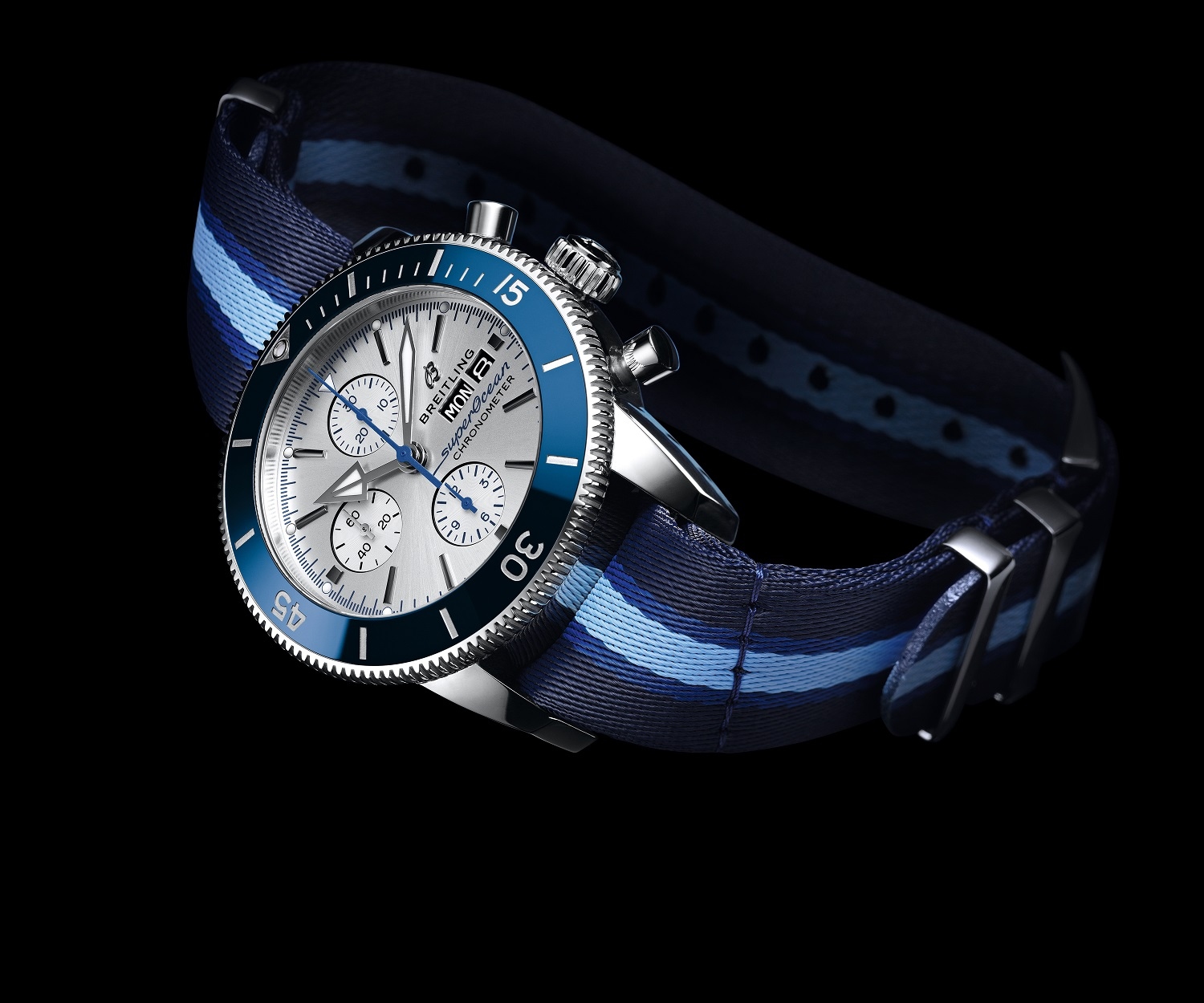 Breitling and Its Surfers Squad Launch a Limited-Edition Superocean Heritage