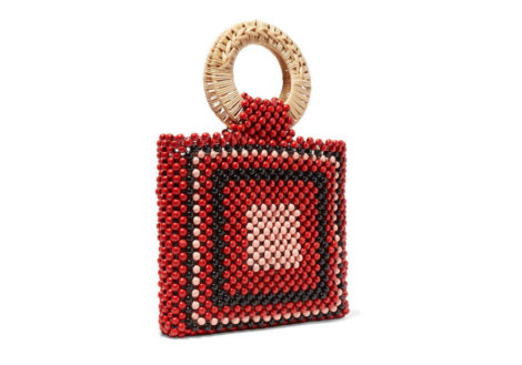 ULLA JOHNSON Keya mini beaded tote