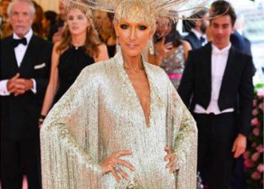 Celine Dion at Met Gala 2019
