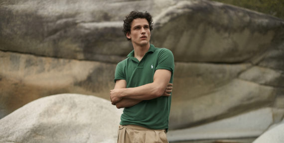 Ralph Lauren's Earth Polo is made using recycled plastic bottles