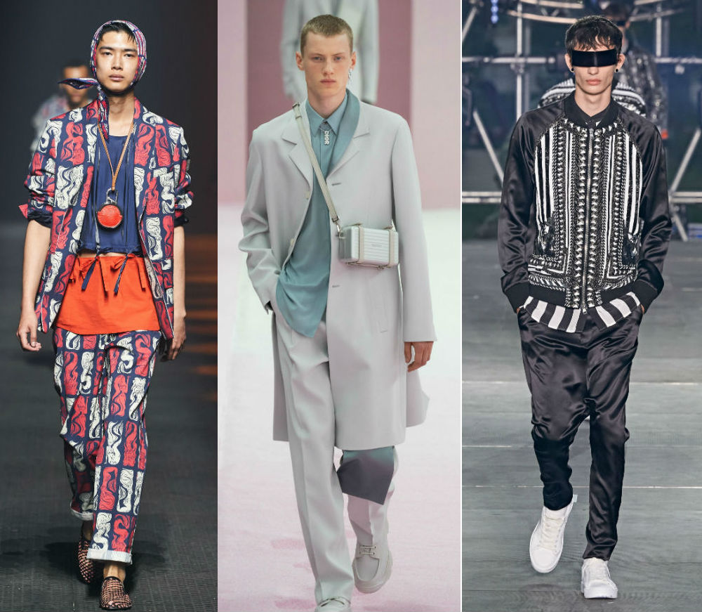 The Best Of Paris Men S Fashion Week Ss20 From Kenzo To Dior Homme Valentino And More A E Magazine
