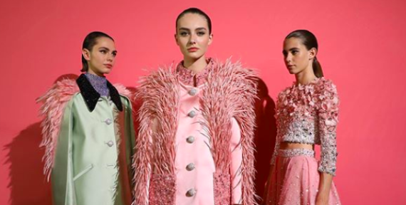 See Georges Hobeika's Bird Of Paradise Haute Couture Collection for AW19