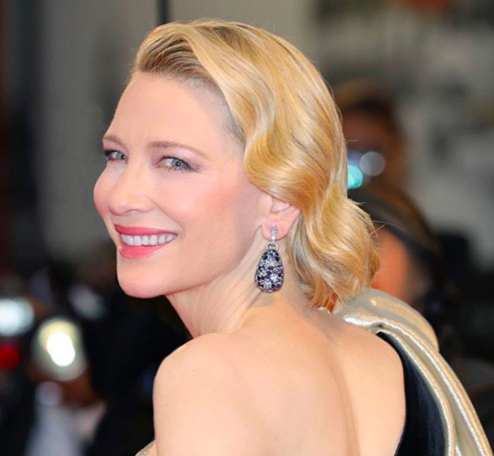Cate Blanchett is the global ambassador for Giorgio Armani Beauty