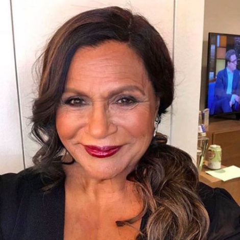mindy kaling old face app ageing