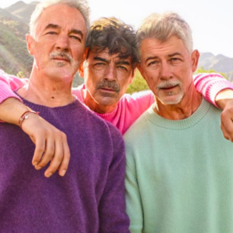the jonas brothers old ageing faceapp