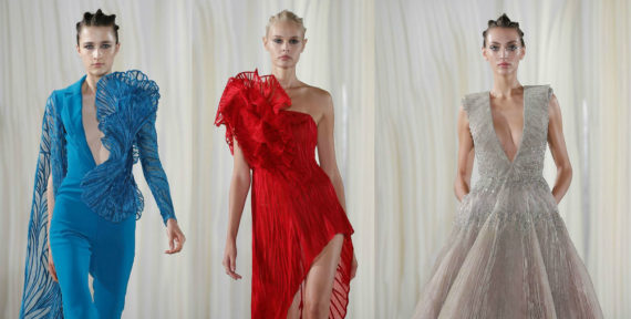 See more from Tony Ward's AW19 collection