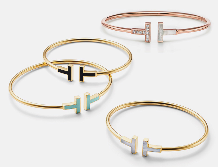 Touch Of Colour See The Tiffany T Wire Bracelet Reimagined A E Magazine