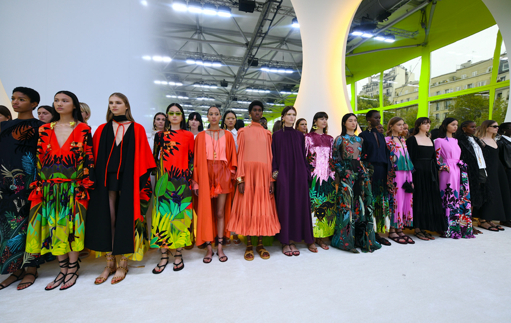 Inside Valentino S Spring Summer 2020 Ready To Wear Collection Presented At Paris Fashion Week A E Magazine