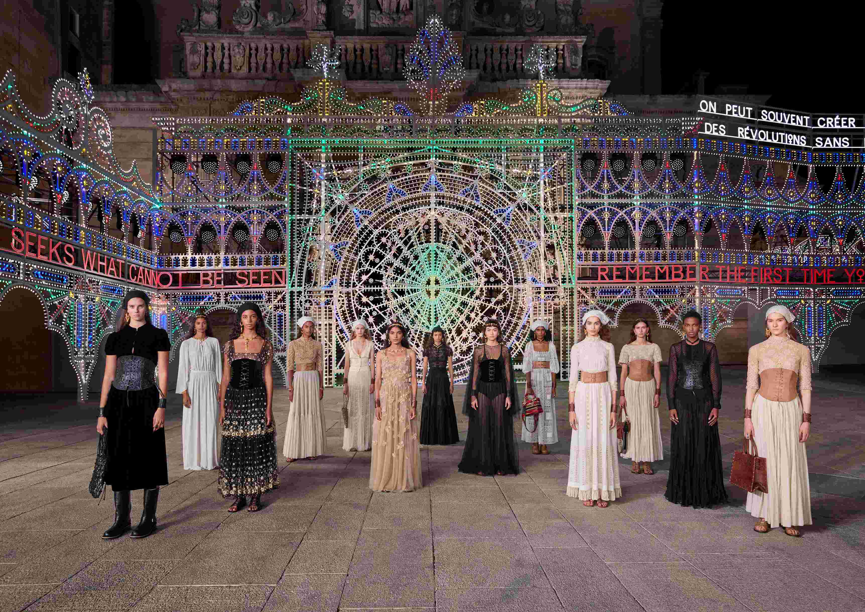 Dior Presents its Cruise 2021 Collection in Lecce, Italy