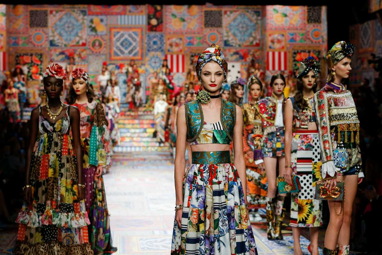 Milan Fashion Week: Dolce&Gabbana Spring/Summer 8 - A&E Magazine